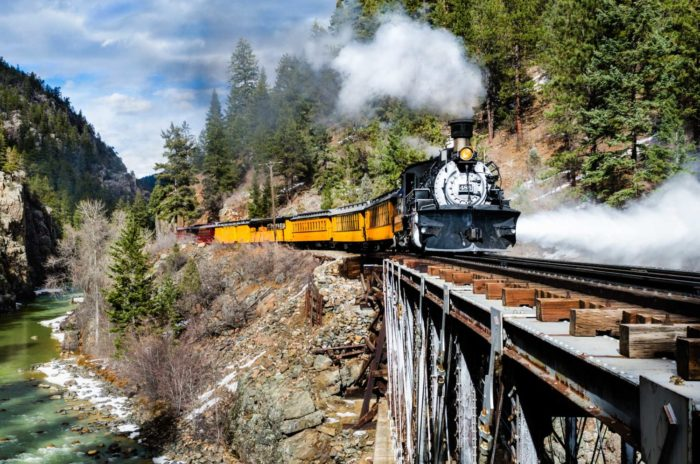 Colorado Rail & Rafting Tour - 5 Days - 8 Meals - $1100pp (dbl) July 11 -  15, 2019
